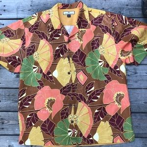 Tommy Bahama Button down, Floral Shirt